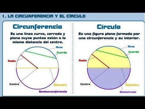 AREA DE UN CIRCULO Y CIRCUNFERENCIA. CUERDA, DIAMETRO Y ARCO. Matemáticas Mistercinco