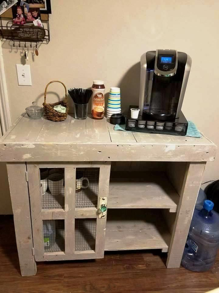Recycled Pallet Kitchen Island Table - 101 Pallet Ideas