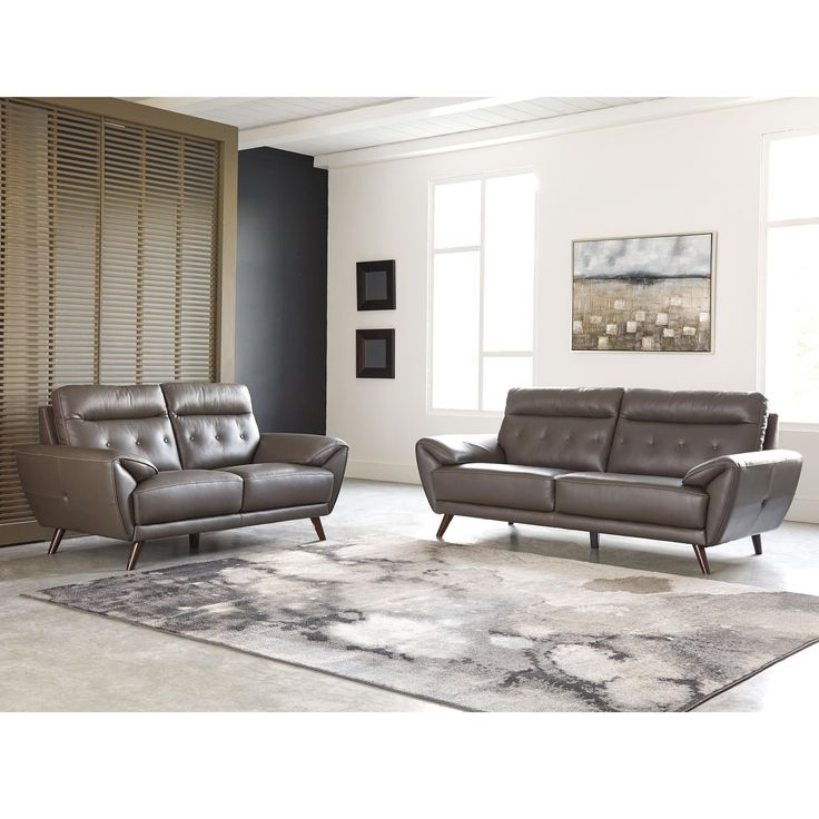 34++ Leather living room sets at ashley ideas in 2021