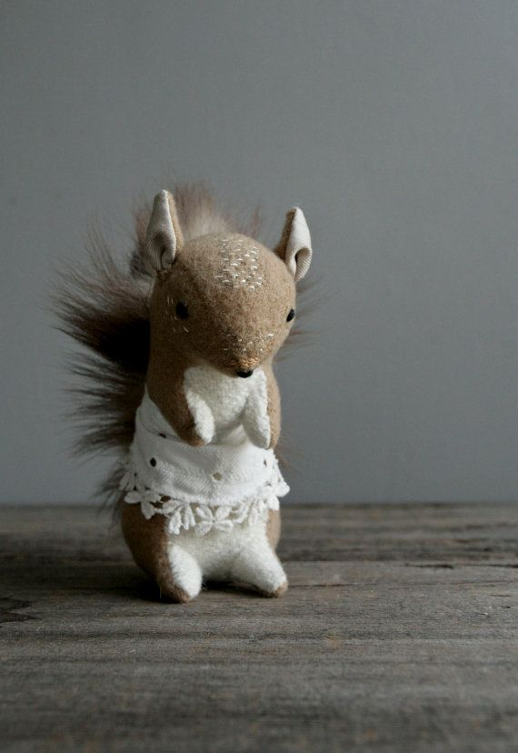 ☃ Plush Toy Preciousness ☃ Squirrel.
