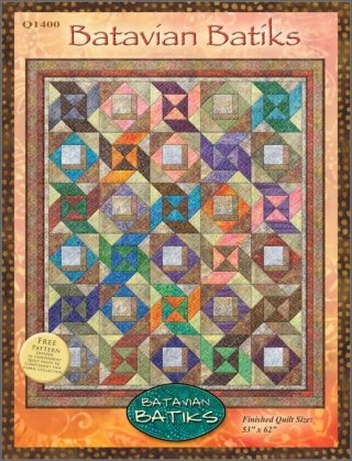 Batavian Batiks Quilt Pattern By Wilmington Prints This