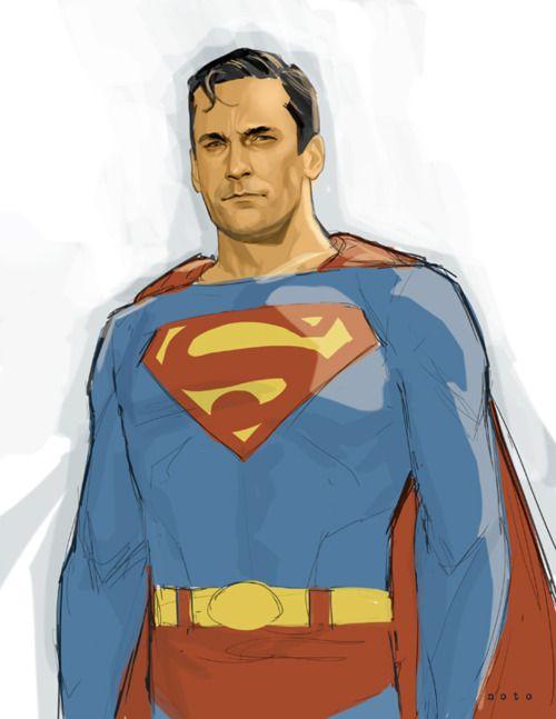 Jon Hamm is Supermanby Phil Noto