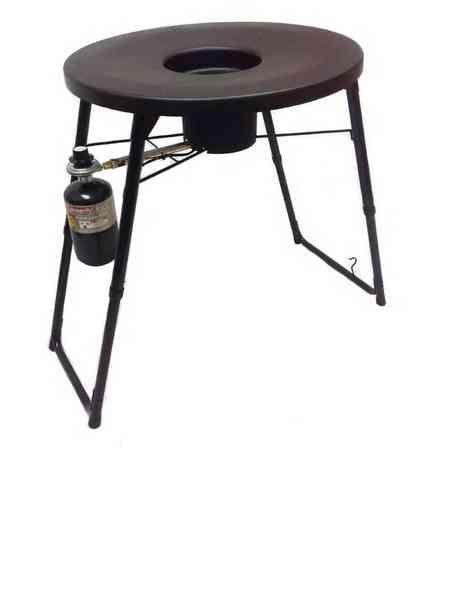 Fryin' Saucer Outdoor Portable Propane Deep Fryer, Camping Grill & More FS-1307