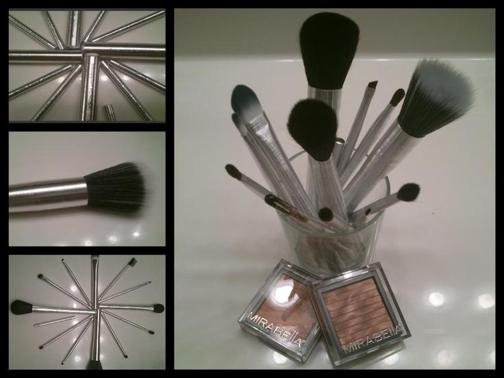 Mirabella Makeup Brushes