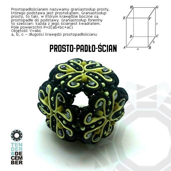 3D geometry soutache by Tender December