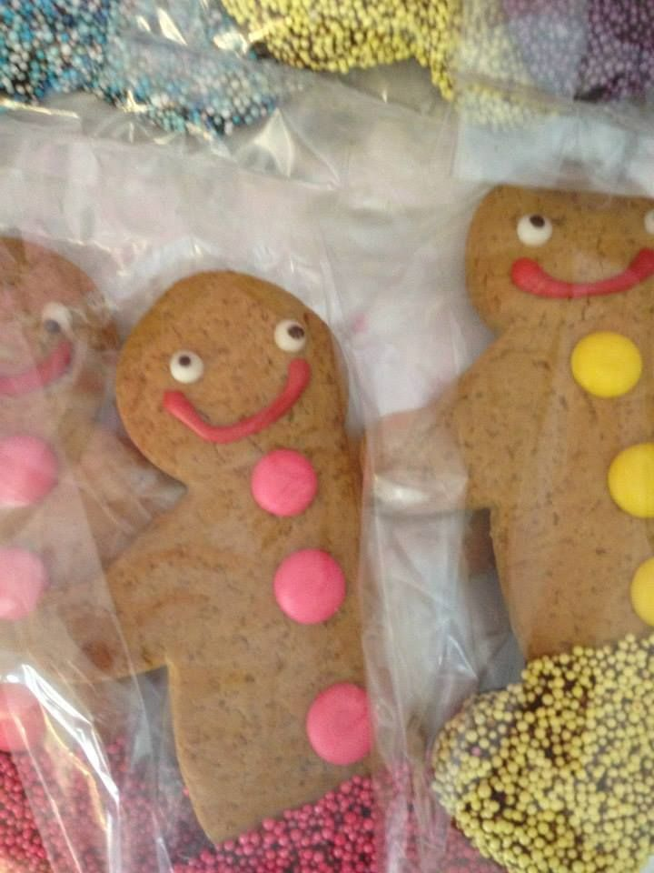 Gingerbread cookies...a firm favourite!