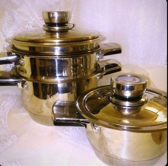 Region Solingen/Solingen Bachmayer 6 Piece Cookware Leffert Brand