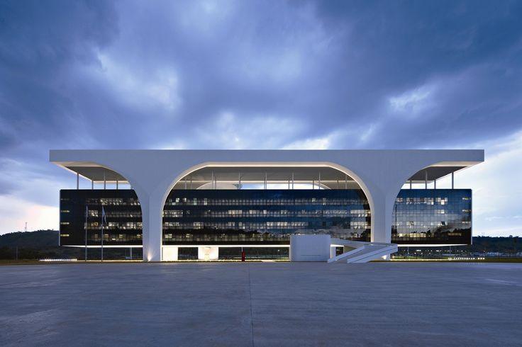 Oscar Niemeyer: Cidade Administrativa Presidente Tancredo Neves , Belo Horizonte