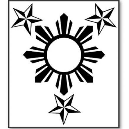 filipino sun & stars