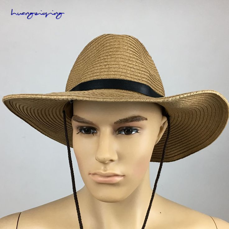 summer bucket hat for men vintage bucket mountain hat Bullfighter dome straw hat camping mountaineering sports