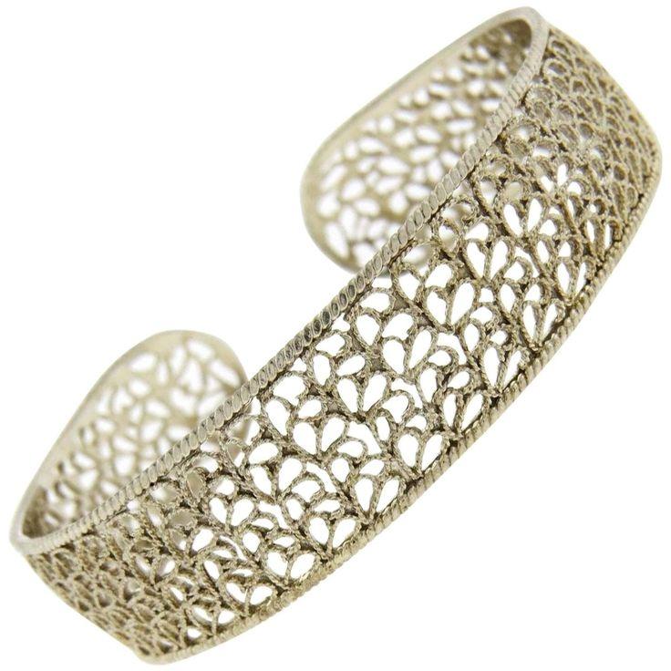 Buccellati Bracelet for Women, Silver, Sterling Silver, 2017, One Size