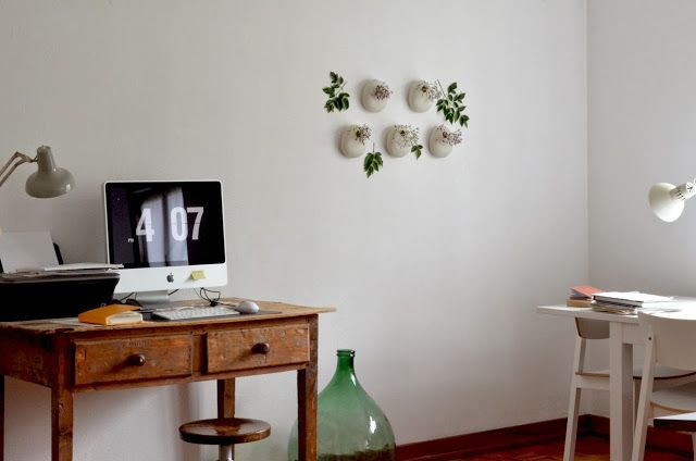 LARGE WALL VASES