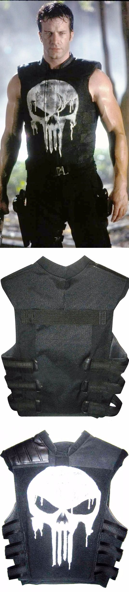 THOMAS JANE PUNISHER TACTICAL BLACK VEST    http://www.ebay.com/itm/THOMAS-JANE-PUNISHER-TACTICAL-BLACK-FAUX-LEATHER-VEST-ALL-SIZES-AVAILABLE-/172641649511   If you want a costume for an attire gathering or fundamentally just what you want for unplanned occasions, there's no need to aspect more, as we have Thomas Jane Punisher Tactical Black Vest. This Vest is certainly stimulated from the film The Punisher. The Thomas Jane Punisher Black  Vest is made up of Synthetic Leather with an inward…