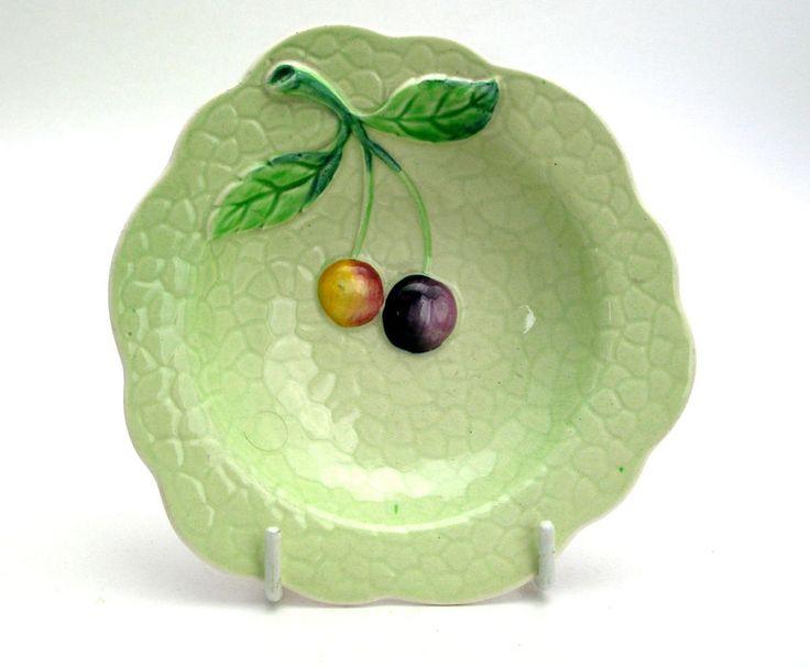 Vintage CARLTON WARE Pin/Trinket Dish 'Cherries' in Pottery, Porcelain & Glass, Pottery, Carlton Ware | eBay