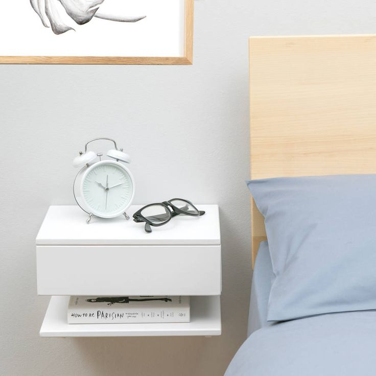 The 25 Best Wall Mounted Bedside Table Ideas On Pinterest