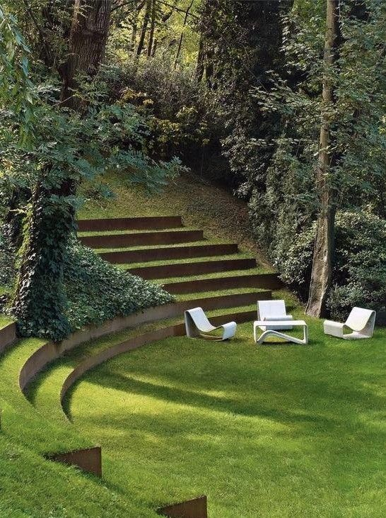 Landscape architecture  #modernlandscaping #architecture #customdesign  Ninebarklandscaping.com