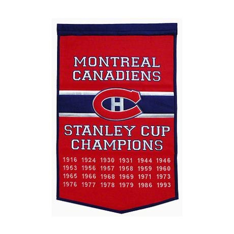 Montreal Canadiens Dynasty Banner