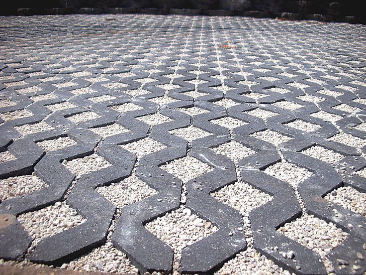 Turfstone Permeable Concrete Pavers.  Permeable Concrete Pavers and Turfstone Idea & Photo Gallery - Enhance Companies - Brick Paver Installation and Sales - Jacksonville, Gainesville, Orlando, Daytona, St. Augustine, Florida - Brick Paving and Hardscape Supply
