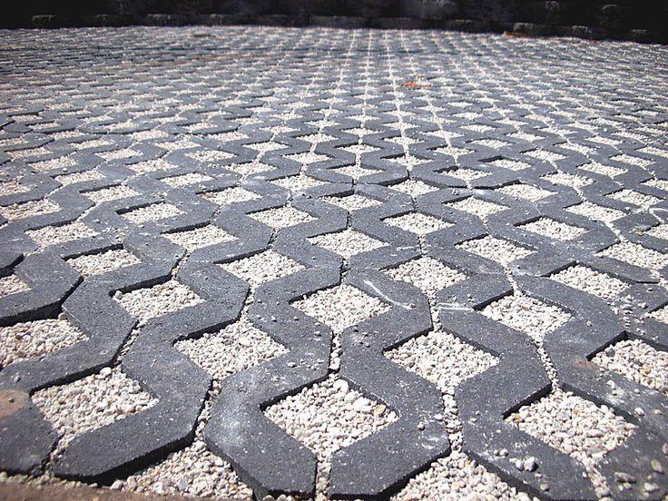 Turfstone Permeable Concrete Pavers.  Permeable Concrete Pavers and Turfstone Idea & Photo Gallery - Enhance Companies - Brick Paver Installation and Sales - Jacksonville, Gainesville, Orlando, Daytona, St. Augustine, Florida - Brick Paving and Hardscape Supply