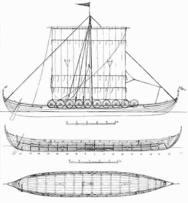 Viking Age Shipbuilding last edited by Rick Fehrenbacher 5 years, 4 months ago Drawings of a Viking ship