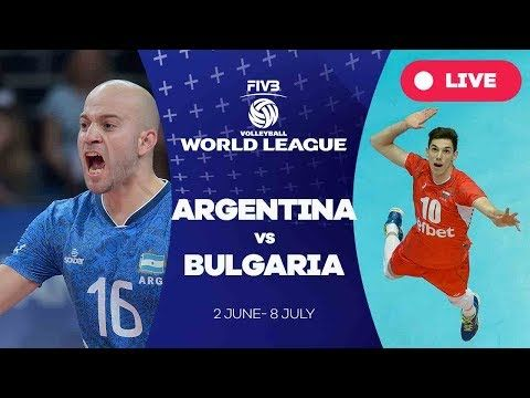 Argentina v Bulgaria - Group 1: 2017 FIVB Volleyball World League
