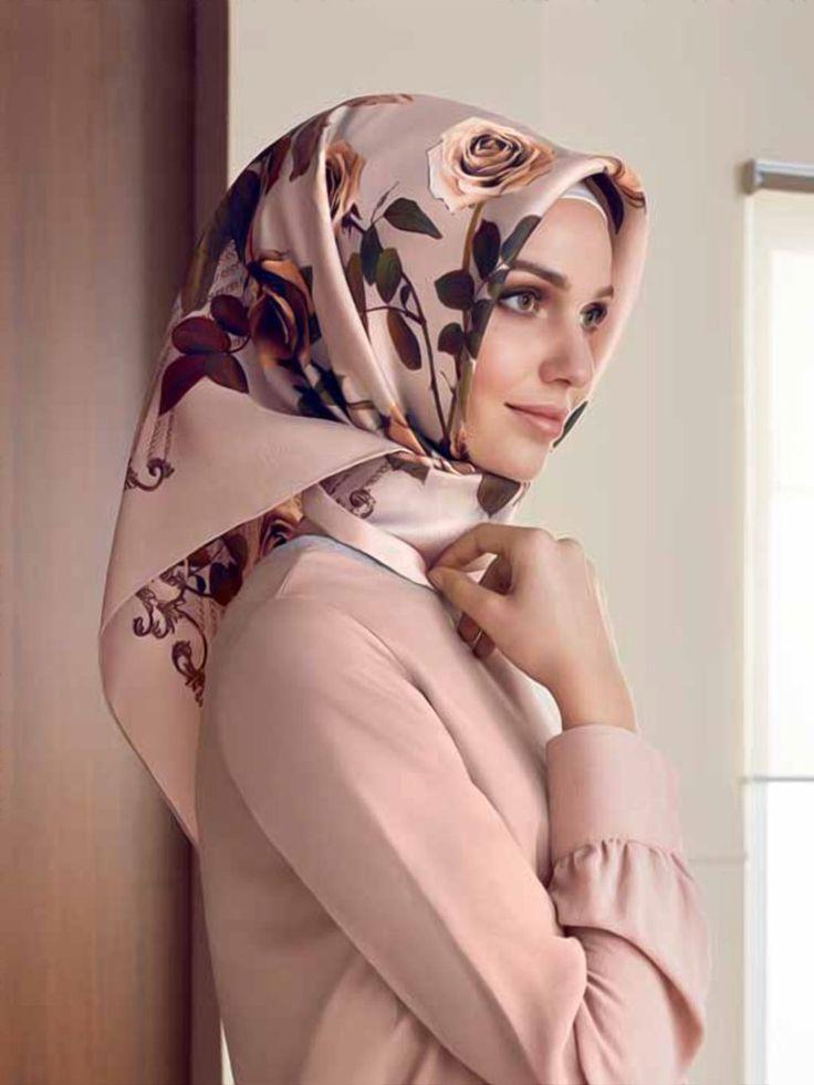 Armine Beautiful and Modern Hijab Fashion from Turkey - Beautiful Hijab Styles