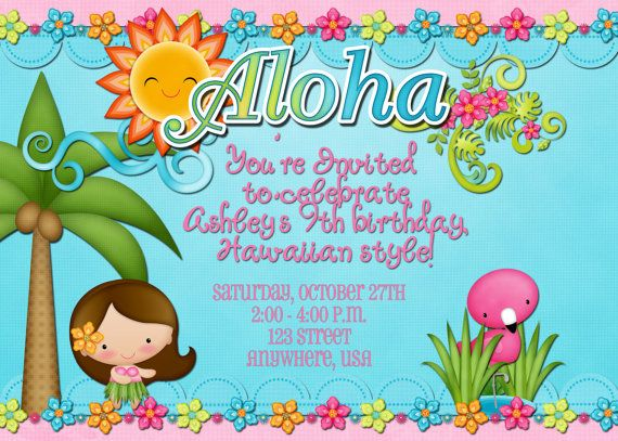 Etsy https://www.etsy.com/nl/listing/113264572/hawaiian-luau-birthday-party-invitation