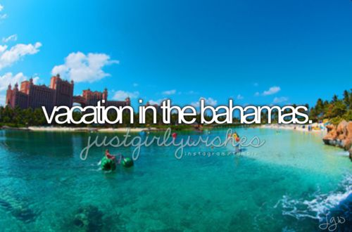 My daughter's Senior trip will be in the Bahamas! We get to go with her!!! ;)