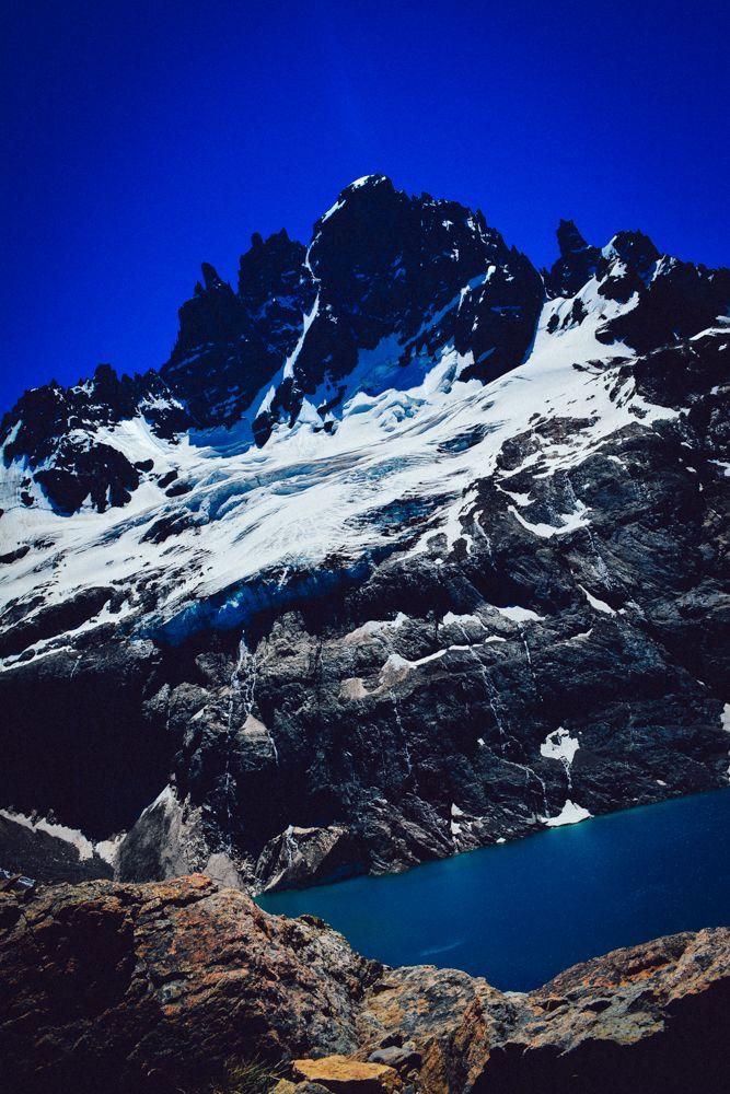 At the top of Cerro Castillo, Chile. http://www.raices.co.uk
