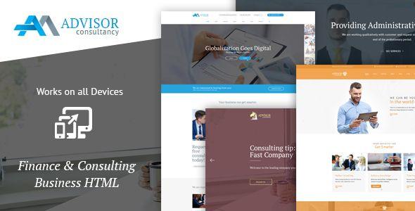 Advisor Consultancy, Business, Finance Template - Business Corporate Consulting Template. Download here: https://themeforest.net/item/-advisor-consultancy-business-finance-template-/16565058?s_rank=20&ref=yinkira