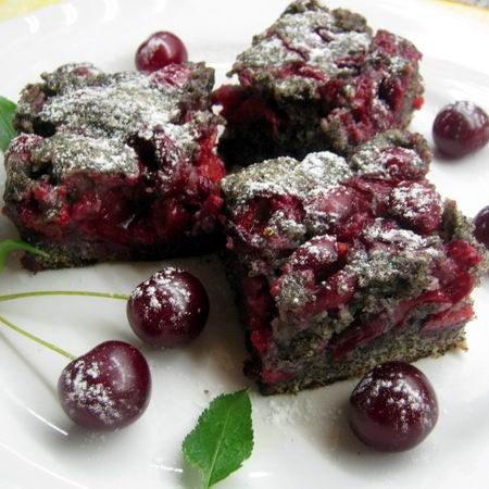 Mákos-meggyes sütemény Recept képekkel -   Mindmegette.hu - Receptek