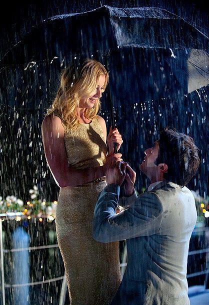 Revenge: Emily Thorne and Daniel Grayson (Emily VanCamp and Josh Bowman)