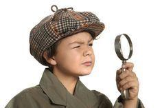 Kindergeburtstag Detektiv - Kinderspiele-Welt.de