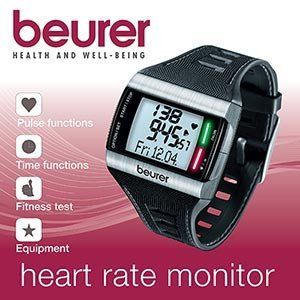 Beurer PM62 Heart Rate Monitor by Beurer. $66.38. Chest Strap size: 38 to 51.2 inches (96.5cm to 130cm). Needs to be worn fairly snug to the body to ensure precise heart rate measurement. Analog signal transmission Average and maximum heart rate Individual training area (settable) Training area alarm Training area times below, within, above Training zone suggestions (automatic) Fitness level (1-5) including interpretation and VO2max PC ready Fitness test with i...