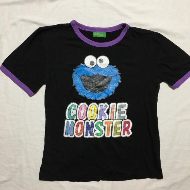 SESAME STREET(セサミストリート)のクッキーモンスター セサミストリート Tシャツ レディースのトップス(Tシャツ(半袖/袖なし))の商品写真