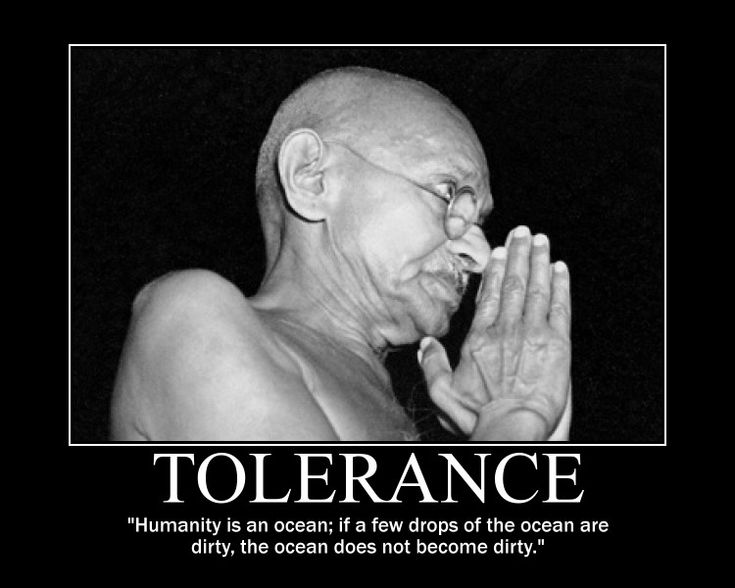 tolerance quotes | Mohandas Karamchand Gandhi Motivational Posters at Educator ...