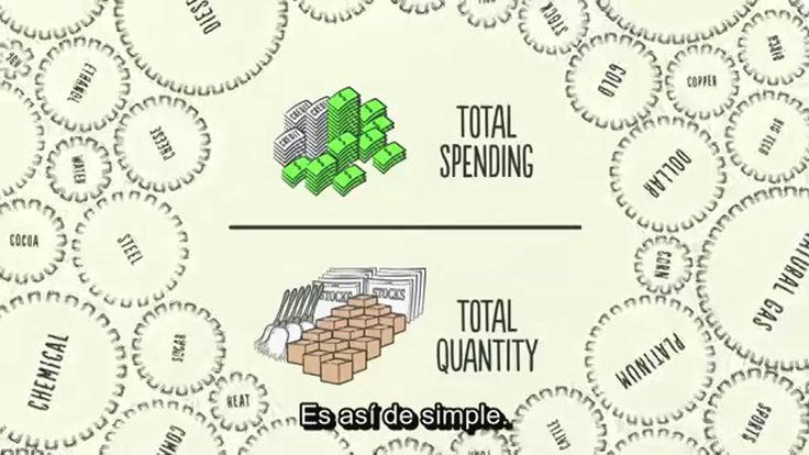 Sensacional vídeo que nos explica en 30 minutos todas las facetas de la economía. Está en inglés pero incluye subtítulos automáticos en castellano.