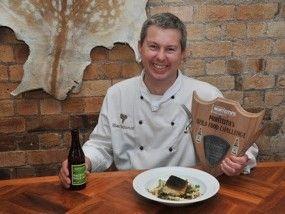 2013 Monteiths Wild Food Challenge winner Eugene Sokolovski from Ribier.