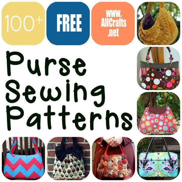 68 best Free Purse Sewing Patterns images on Pinterest | Sewing ...