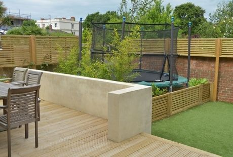 trampoline small garden - Google zoeken