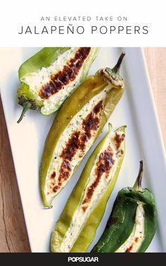 These jalepeno poppers are healthified, so no guilt.