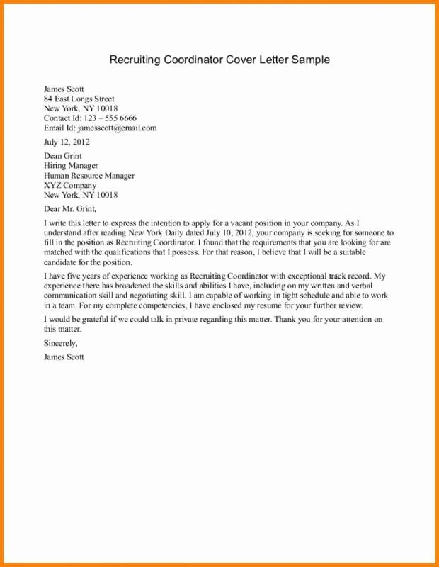 Pin On Job Application Letter Template