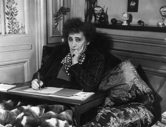 Colette in 1940
