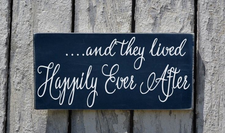 Wedding Sign, Rustic Wedding Chalkboard Decor They Lived ...