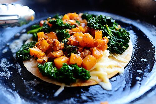 Butternut Squash & Kale Quesadillas by Ree Drummond / The Pioneer ...