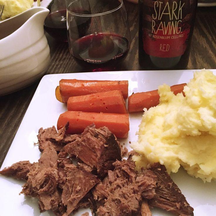 Weekday Pot Roast Dinner