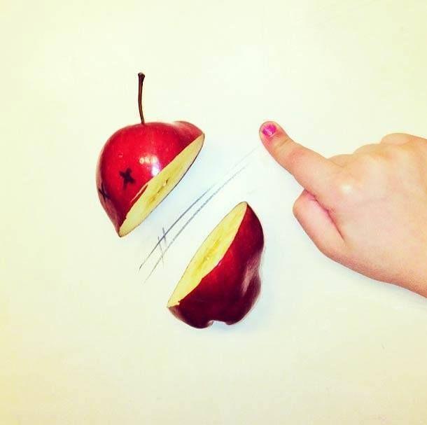 Pomme dessin
