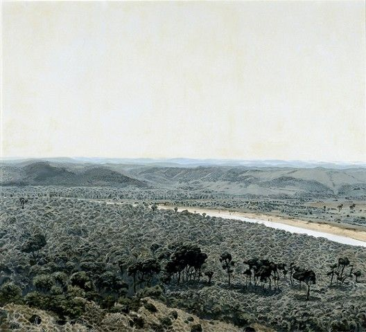 Kowie Estuary, Noon by Neil Rodger, 1982 Oil on canvas 800 x 900mm