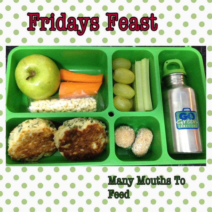 Lunch using the Go Green lunch box