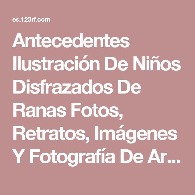 Antecedentes Ilustración De Niños Disfrazados De Ranas Fotos, Retratos, Imágenes Y Fotografía De Archivo Libres De Derecho. Image 12917470.
